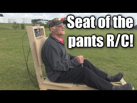 After FPV?  Seat of the pants RC plane flying