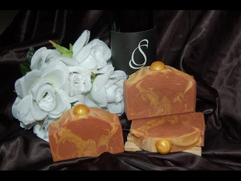 Cold Process Red Wine Soap