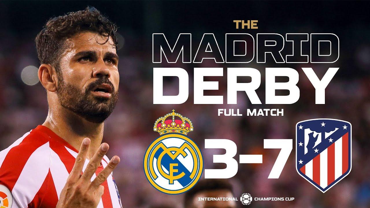 Real Madrid 3-7 Atlético Madrid - Madrid Derby 2019 Full Match | ICC2019