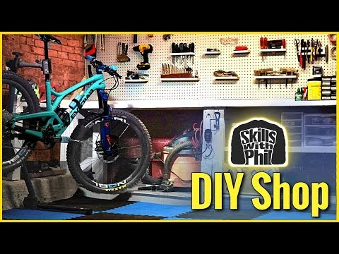 Building a bike workshop in our basement | Skills with Phil
