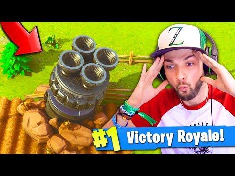 ROCKET CRASH *FOUND* in Fortnite: Battle Royale!