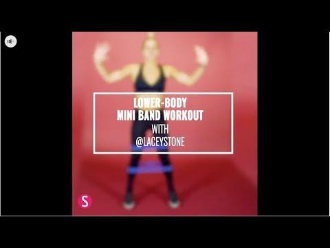 Lower-Body Mini Band Workout | SHAPE