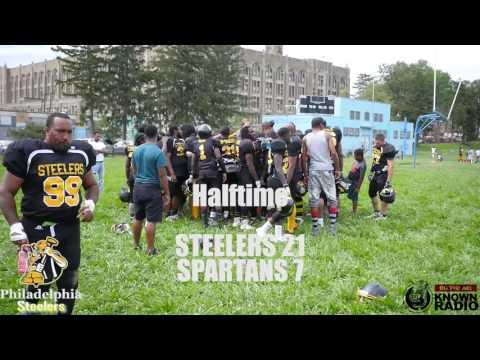 Spartans vs Steelers Week 1 Semi Pro Football IFL