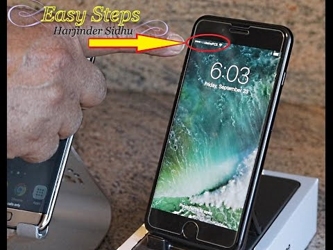iPhone 7 Plus Working on MetroPCS | Transfer SIM Card From Android To iPhone 7 Plus