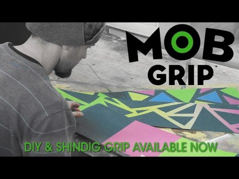 Louie Barletta's Griptape Factory: DIY MOB Grip