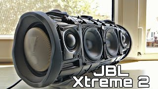 JBL Xtreme 2 - EXTREMELY POWERFUL BASS TEST!?!