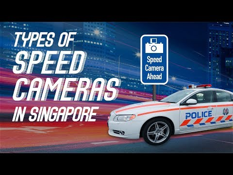 Types of Speed Cameras in Singapore