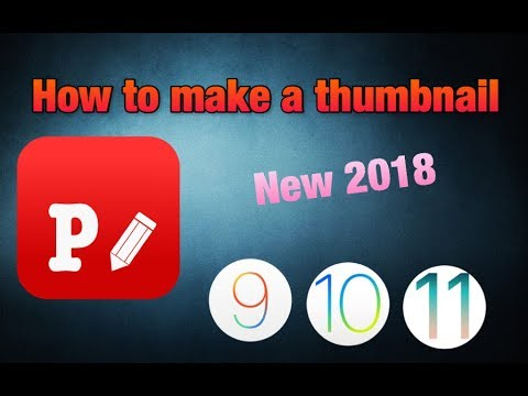 How to make a thumbnail for free on iOS