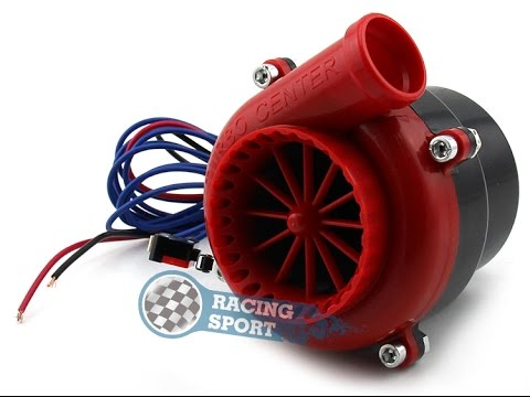 TURBO FAKE  ELECTRIC Turbo Sound Electronic Blow off valve for cars Noon Turbo