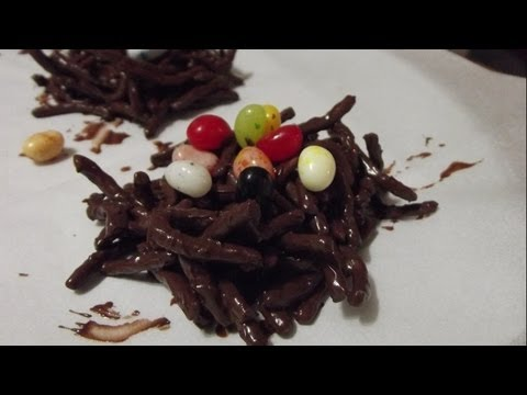 How to Make Easter Chocolate Birds Nests: Noreen's Kitchen