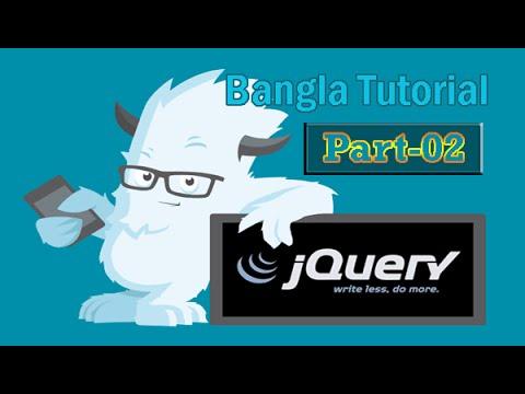 jQuery Fundamentals Bangla Tutorial - hide, show, toggle (Part - 02)