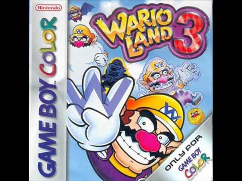 Wario Land 3 OST - 11 - W2 - The Volcano's Base / E3 - Castle of Illusion (Daytime)