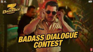Dabangg3: Badass Dialogue Contest   Salman Khan   Sonakshi Sinha   Prabhu Deva   20th Dec'19