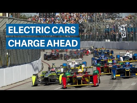 These electric race cars look just like Formula 1, but are eerily quiet