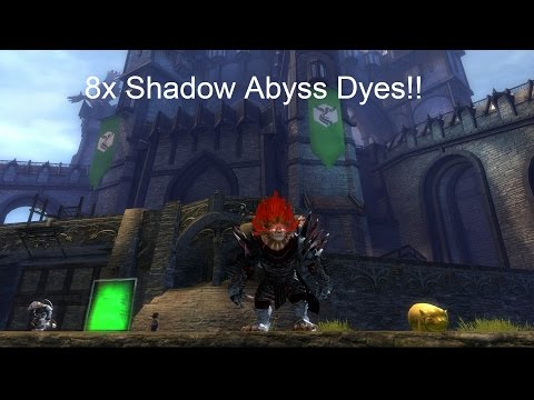 GW2 l 8 Shadow Abyss Dyes