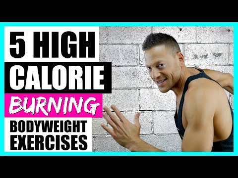 5 HIGH CALORIE BURNING EXERCISES (Bodyweight Only) 🔥🔥🔥 LIVE!