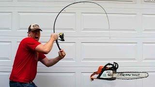 Fishing rod challenge! Can I break an Ugly Stik GX2?!