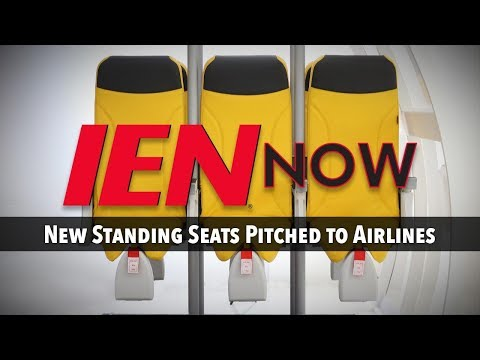 IEN NOW: New Standing Seats Pitched to Airlines