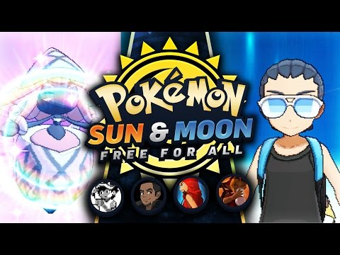 CHOICE SCARFED CALM MIND LOL! VS TheeMikeyJ, CraigMaster, Tensations! - Pokemon Sun and Moon FFA