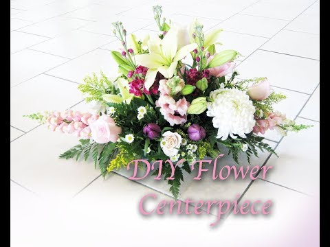 Fresh Flower Centerpiece DIY for Wedding or Party Decoration