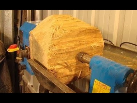 90 Wood-turning a** $60,000** Bowl from a $0.10 log