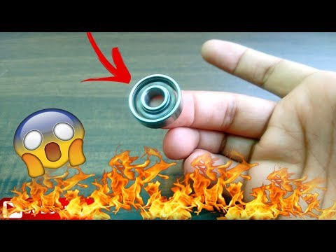 how to make bearings spin faster and longer