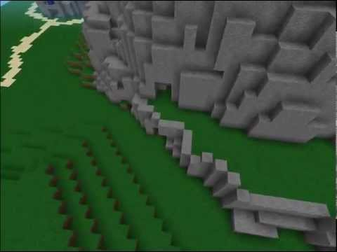 Halo's Blood Gulch (Hemorrhage) In Minecraft PE!