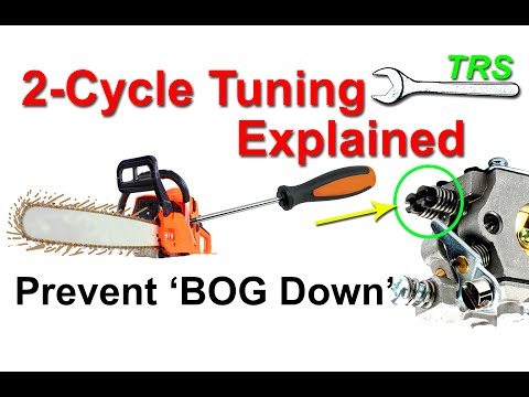 1 Reason an Engine Loses Power/Won't Start/Cuts Out/Bog Down/2 Stroke Cycle/Screw Setting/Save Money