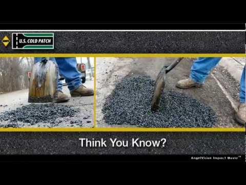 Sakrete U.S. Cold Patch: Simply the Best Asphalt Patch and Pothole Repair
