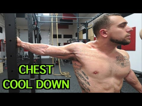 5 Minute Chest Static Stretching Routine | Cool Down