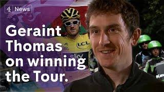 Geraint Thomas on winning Tour de France and Team Sky