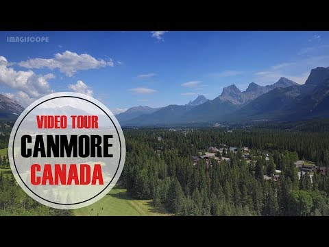 Canmore Rocky Mountain Video Tour