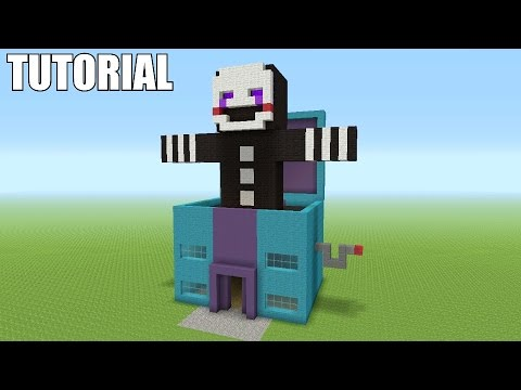 Minecraft Tutorial: How To Make A Marionette / Puppet