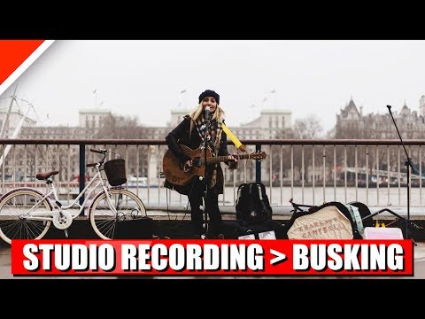 Sound Like Buskers from a Studio Recording