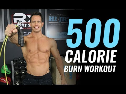 Burn 500 Calories With This Jump Rope Workout