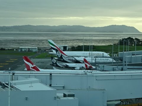 Novotel Auckland Airport Hotel, New Zealand - Planespotting