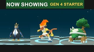 First Ever Gen 4 Starter Evolution Chimchar, Pilpup & Turtwig in Pokemon Go