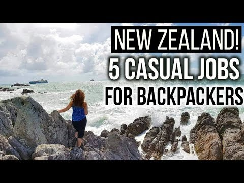 5 EASY WAYS TO FIND WORK IN NEW ZEALAND! | Casual Backpacker Jobs and Tips.