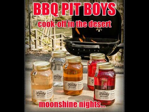 BBQ Pit Boys Cook-off in the desert, moonshine nights