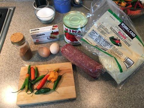 How to Make a Keto, Low Carb Casserole