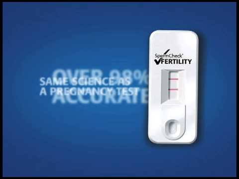 Spermcheck Male Fertility Home Test Kit available at Walgreens