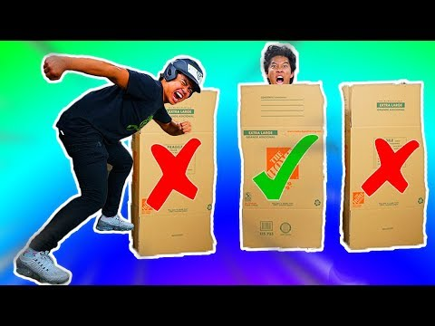 Tackle The Person In The Box!