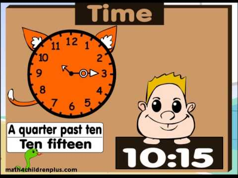 How to read time on analogue and digital clocks video