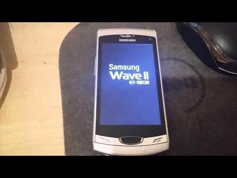 Hard Reset Samsung S8530 Wave II Bada OS