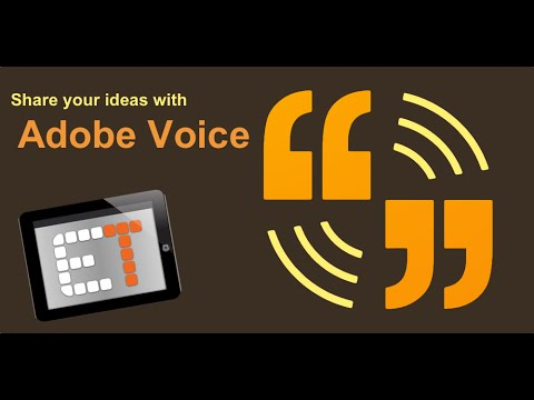 Adobe Voice in the Classroom