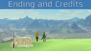 The legend of zelda breath of the wild ending and credits hd 1080p mp3