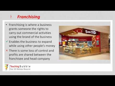 VCE Business Management - Seeking New Business Opportunities