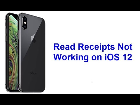 Read Receipts Not Working on iOS 12 (Fixed)
