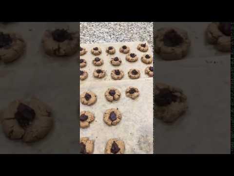 Peanut Blossoms - Sugar-Free, Gluten-Free, Dairy-Free