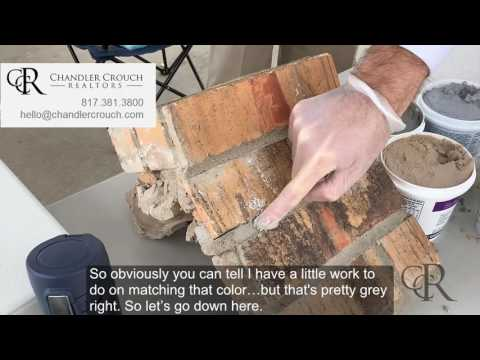 How to Repair Brick Mortar Cracks & Color Match PERFECTLY for $10